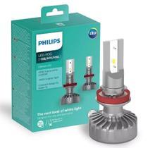 Par Lâmpada Philips Led Fog Ultinon 6200k H8 H11 H16 +160% -