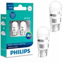Par Lâmpada Philips Pingo Led Branco W5W T10 6000k -