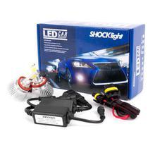 Par Lâmpada Super Led 4400 Lumens 12V 24V 32W Shocklight H8 6000K -