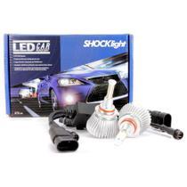 Par Lâmpada Super Led 4400 Lumens 12V 24V 32W Shocklight HB3-9005 6000K -