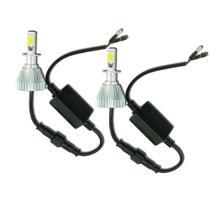 Par Lâmpada Super Led Headlight H3 32W 3200 Lumens 6000K - Doorbem