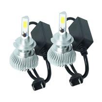 Par Lâmpada Super Led Headlight H7 32W 3200 Lumens 6000K - Doorbem