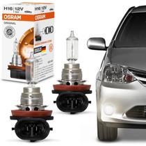 Par Lampadas Halógenas Standard Toyota Etios 2013 2014 H16 3200K 19W 12V Original Osram -