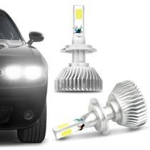 Par Lâmpadas Super LED H7 6000K 9000LM Shocklight Headlight 3D Com Fonte Efeito Xênon Carro Moto -