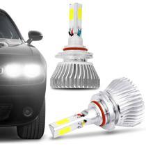 Par Lâmpadas Super LED HB3 3D Headlight 6000K 12V 50W 9000LM Efeito Xênon Carro Moto - Shocklight