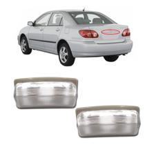Par Lanterna de Placa Corolla Fielder 2003 2004 2005 2006 2007 2008 Sem Soquete - Dsc