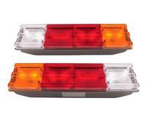 Par Lanterna Traseira Caminhão Mb 111316181620 - Mercedes - Pradolux