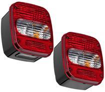 Par Lanterna Traseira Caminhão VW Troller Marmita Moderna - Edn