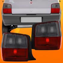 Par Lanterna Traseira Fume Fiat Uno 2004 2005 2006 07 08 09 - JCV