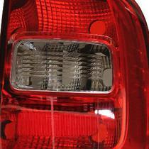 Par Lanterna Traseira Saveiro G5 G6 2009 2010 11 A 2016 Fumê - Volkswagen