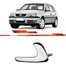 Par maçaneta interna metal gol parati saveiro g2 g3 serve dianteira e traseira cromado - Universal Automotive