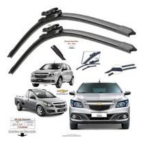 (PAR) Palhetas de silicone Grafitada Chevrolet Onix e Prisma 2013-2017 em diante. - Vx Group