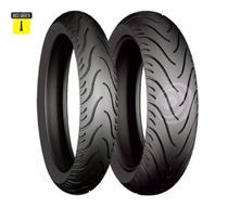 Par Pneu 140/70-17 E 110/70-17 Stroker Cb300 Twister Fazer - Technic