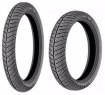 Par Pneu 90/90-18 + 350-16 Michelin City Pro Intruder Kansas -