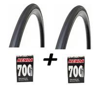 Par Pneu Bike Pirelli Corsa Pro Speed 700x23 e 2 Camaras -