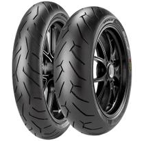 Par Pneu Cb 250 Twister 140/70r17 + 110/70R17 Tl Diablo Rosso II Pirelli - Pirelli Moto