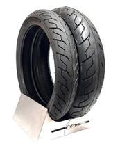 Par pneu cb 300 cbx 250 twister ys fazer 250 comet ninja 300 250 dianteiro + traseiro 0163 - LEVORIN