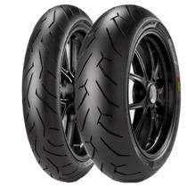 Par Pneu Cb 300 Pirelli Diablo Rosso 2 110/70-17 + 150/60-17 -