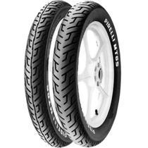 Par Pneu Cbx 200 Strada 100/90-18 + 275-18 Mt65 Pirelli -