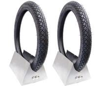 Par pneu crypton dianteiro traseiro 60 100 17 c100 dream  suzuki gs 120 crypton 100 115 maggion 0750 -