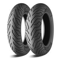 Par Pneu de Moto Michelin CITY GRIP 120/70-15 + 140/70-14 Sem Câmara de Ar Yamaha Xmax  X Max 250 -