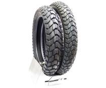 Par pneu pirelli bros traseiro 110 90 17 dianteiro 90 90 19 novo original 0592 -