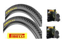 Par Pneu Pirelli Scorpion Aro 26 x 2.0 Mtb2 Cravo + 2 Camaras Pirelli -