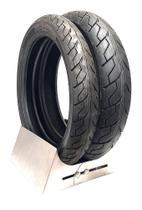 Par pneu twister dianteiro 100 80 17 traseiro 130 70 17 cbx 250 fazer cb matrix sport levorin  0162 -