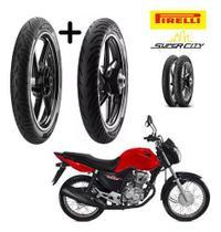 Par Pneus Honda Cg 160 Start  Pirelli -