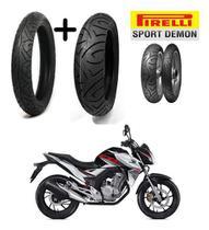 Par Pneus Nova Twister Cb 250 Pirelli Medida Original -