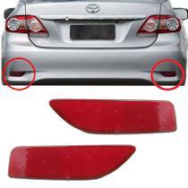 Par Refletor Olho de Gato Parachoque Traseiro Corolla 2012 e 2013 - Dsc