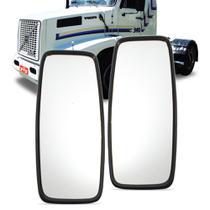 Par Retrovisor Scania Volvo Onibus Rodoviario Plano Grande Fixo - Imola