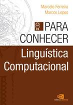 Para Conhecer Linguística Computacional - Contexto