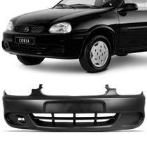 Parachoque Dianteiro Corsa Hatch 99 a 2002 Preto Liso Dts -
