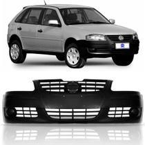 Parachoque dianteiro Gol G4 2005 Até 2010 preto text s furo - Volkswagen