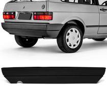 Parachoque Traseiro Gol G1 87 a 96 Preto Texturizado Dts -