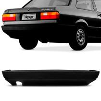 Parachoque Traseiro Volkswagen Voyage 87 a 95 Preto Texturizado Dts -