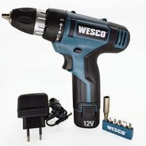 Parafusadeira 10mm bateria 12v ws2532 - Wesco