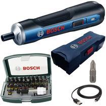 Parafusadeira à Bateria 3,6V BOSCH GO BIVOLT + Estojo de Bits com 32 Peças BOSCH -