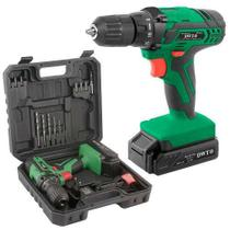 Parafusadeira Furadeira Bateria 12v Pfd012 C/kit 16 unid Dwt -