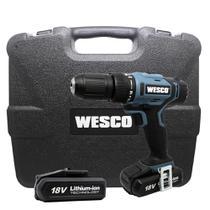 Parafusadeira Furadeira Impacto 1/2 Bateria 18V WS2937K Bivolt Wesco -