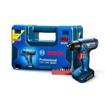 Parafusadeira Furadeira sem fio Bosch GSR 1000 Smart c/ Assessórios e Maleta -