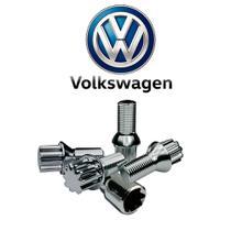 Parafuso Anti Furto Cromado Volkswagem Gol Saveiro Voyage - Volkswagen