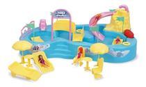 Parque Aquático Infantil 8002 Sai Água de Verdade Homeplay -