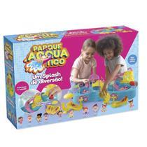 Parque Aquatico Infantil Homeplay Estilo Polly Pocket Menina - Xplast