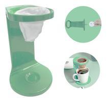 Passador De Café Individual C/ Coador My Coffee Verde Ou - Ou-Martiplast