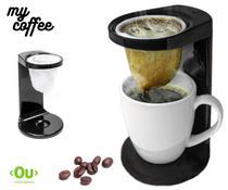 Passador De Café Mini Coador Com Caneca E 1 Refil Pano - Ou