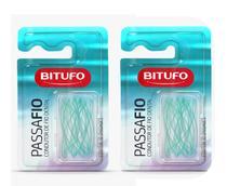 Passafio Bitufo Condutor de Fio Dental Com 60 Unidades -