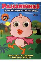Passarinhos: Prancheta Para Colorir Extra - Online Editora