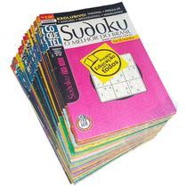Passatempos Coquetel Revista Sudoku Kakuro Quebra-Cabeça -